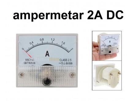 Ampermetar DC 2 A - analogni