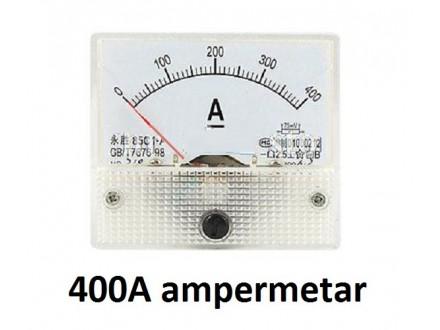 Ampermetar DC 400 A - analogni