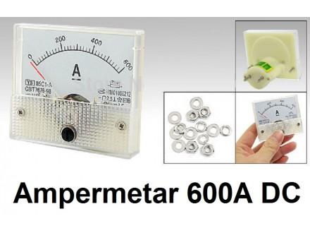 Ampermetar DC 600 A - analogni