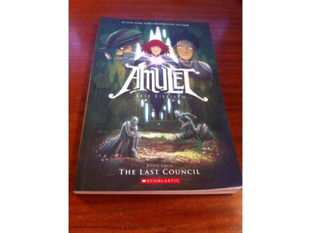 Amulet The Last Council Kazu Kibuishi
