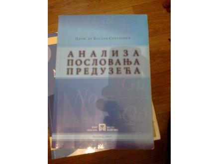Analiza poslovanja preduzeća - prof dr Bogdan Sekulović