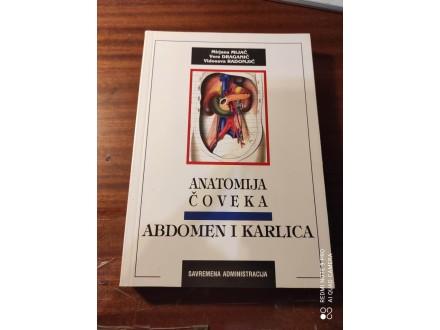 Anatomija čoveka abdomen i karlica Mijač Draganić