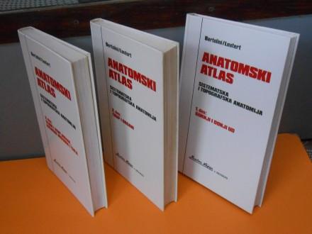 Anatomski Atlas 1-2-3.Bertolini/Leutert Naučna knjiga