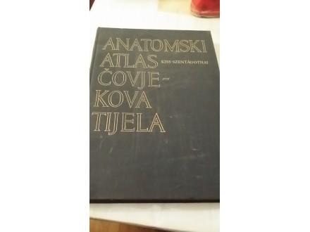 Anatomski atlas čovjekova tijela - Kiss-Szentagothai