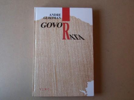 Andre Gliksman - GOVOR RATA