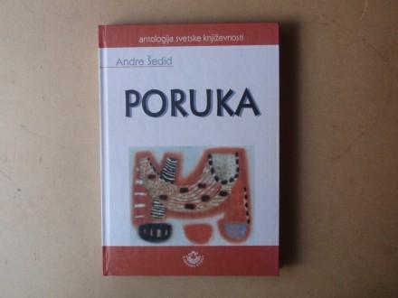 Andre Šedid - PORUKA