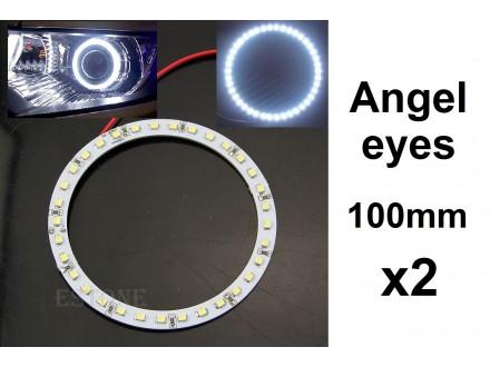 Angel eyes prstenovi - LED - 100mm / 84mm