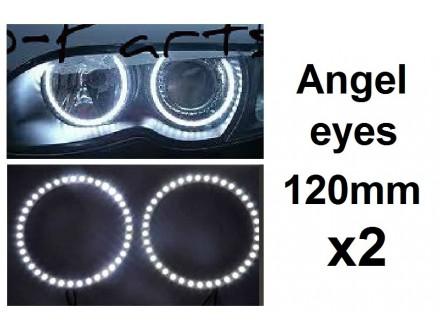 Angel eyes prstenovi - LED - 120mm / 104mm