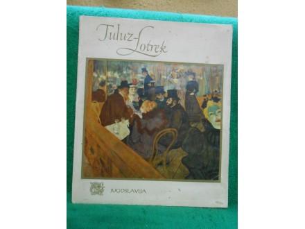 Anri Tuluz-Lotrek male monografije slavnih slikara