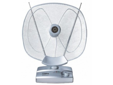 Antena Iskra G2235-07 sobna sa pojacalom, UHF/VHF, dobit 36dB, 220v + 12v FO