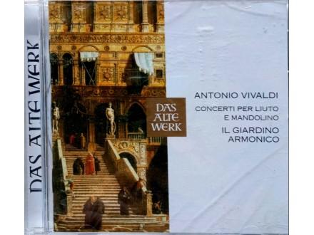 Antonio Vivaldi-concerto per liuto e mandolino