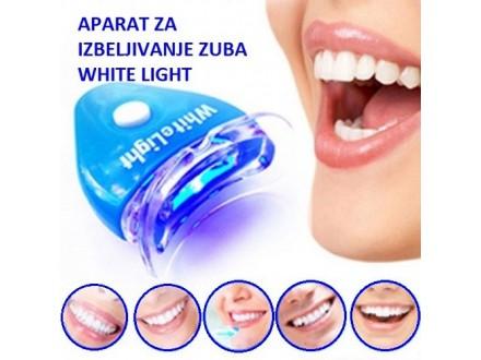 Aparat i gel za izbeljivanje zuba White light