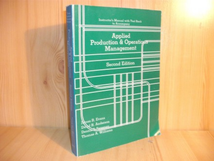 Applied Production&;;;;Operations Management-second edition
