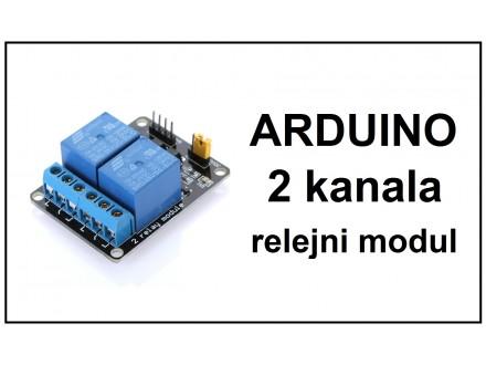 Arduino izlazni rele modul sa 2 kanala