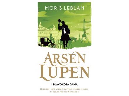 Arsen Lupen i plavokosa dama - Moris Leblan