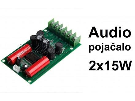 Audio pojacalo 2x15W - TA2024