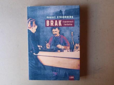 August Strindberg - BRAK ISPOVEST LUDAKA
