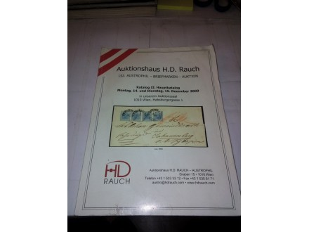Auktionshaus H.D. Rauch - Katalog II: Hauptkatalog