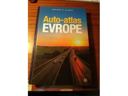 Auto-atlas Evrope / GRUPA AUTORA mladinska
