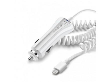 Auto punjac Cellular Line za iPhone 5 beli tip 1