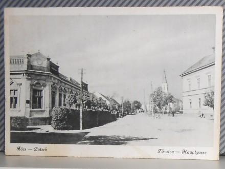 B A Č - GLAVNA ULICA              ( II-02 )