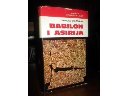 BABILON I ASIRIJA - Georges Conteneau
