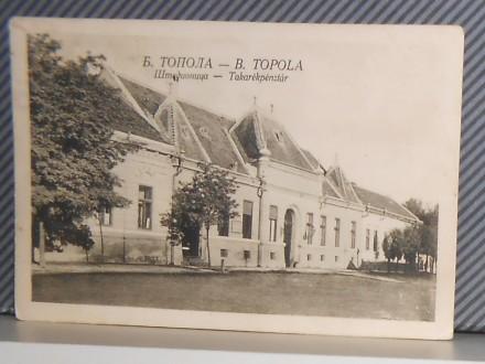 BAČKA TOPOLA - ŠTEDIONICA-1929  ( II-19 )