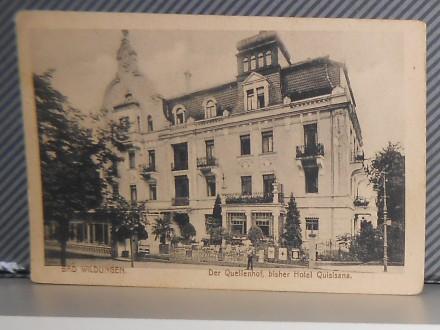 BAD-WILDUNGEN-  HOTEL QUISISANA ( II-55 )