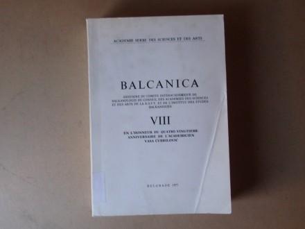 BALCANICA / BALKANIKA VIII