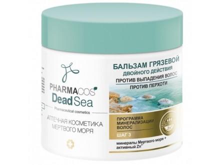 BALZAM OD BLATA s dvostrukim dejstvom PROTIV OPADANJA KOSE PROTIV PERUTI  `PHARMACOS DEAD SEA` , 400 ml