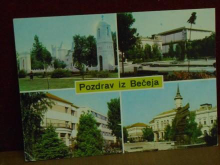 BEČEJ-KOLAŽ-4.POGLEDA -     / VI-93/