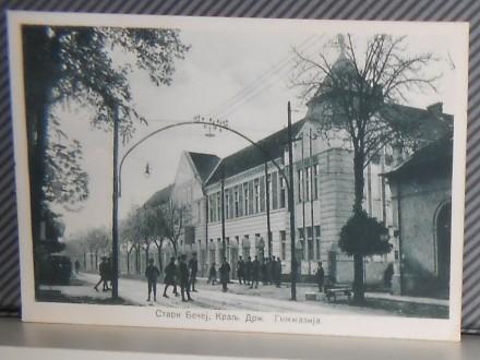 BEČEJ-KRALJ.DRŽ.GIMNAZIJA  1930-1940  ( II-46 )