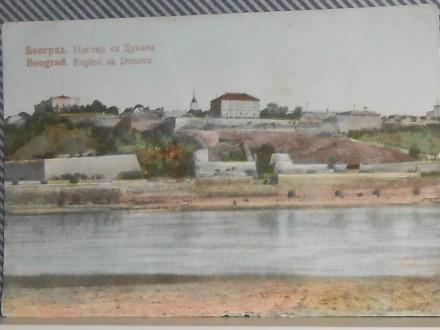 BEOGRAD  -POGLED  SA  DUNAVA -1920/30  (VI-80)