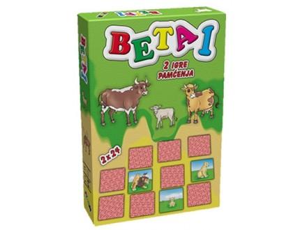 BETA 1 - Igra pamćenja porodice životinja