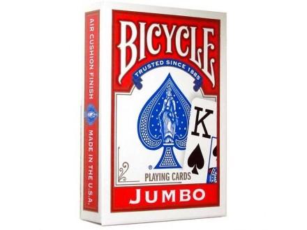 BICYCLE JUMBO karte - crvene