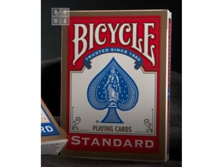 BICYCLE STANDARD karte - CRVENE