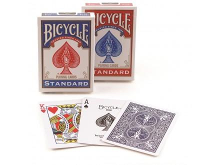 BICYCLE STANDARD karte PLAVE ili CRVENE