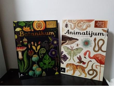 BOTANIKUM i ANIMALIJUM komplet