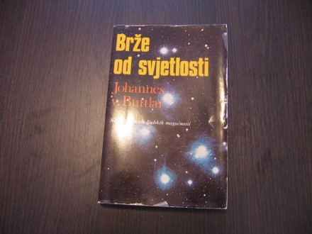 BRŽE OD SVJETLOSTI - Johannes V. Buttlar