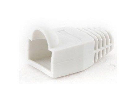 BT5WH/5 Gembird Kapice za LAN konektore white (pakovanje 100 kom)