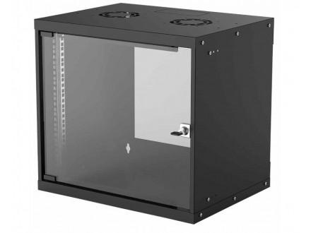 Basic Wallmount Cabinet 9U Rek orman 19` crni (714174)