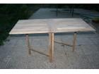 Bastenski sto na rasklapanje