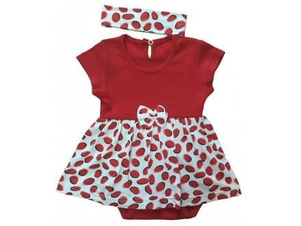 Bebi bodi haljina br  62,68,,80,86 i 92RASP.ZATVAR.