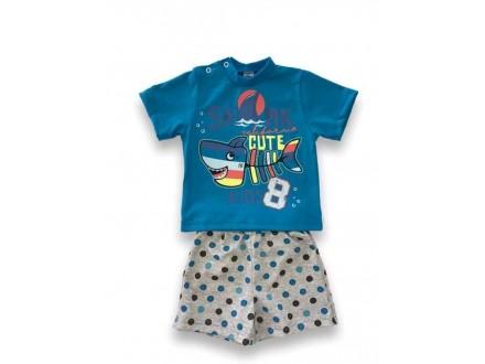 Bebi komplet,sorts i majica br 80,86 i 92