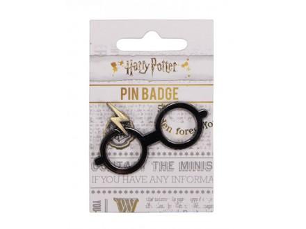 Bedž HP Glasses And Scar - Harry Potter