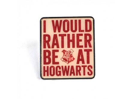 Bedž - HP, Hogwarts Slogan - Harry Potter