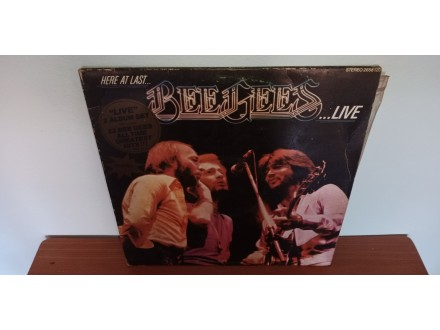 Bee Gees-Hear at last  Live 2LP