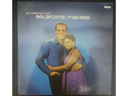 Belafonte  Makeba - An Evening With LP (RCA,1986)