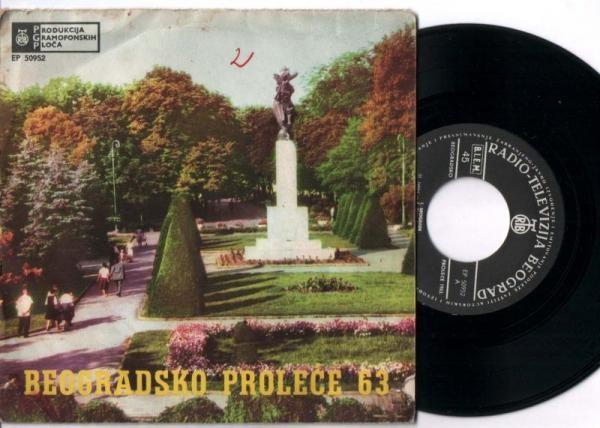 Various - Beogradsko Proleće 1962: Osvetljen Prozor