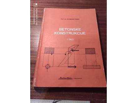 Betonske konstrukcije Romić I DEO